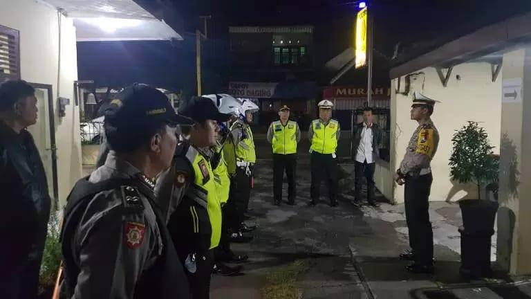 Sekilasmalang.com, Foto : Operasi Cipta Kondisi Polres Kediri