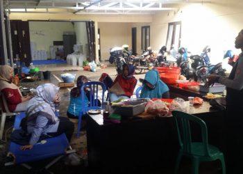 Foto: Para Relawan Dapur Umum