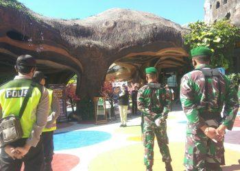 Foto: Wali Kota Batu saat menyampaikan sambutan terkait pembukaan tempat wisata Kota Batu